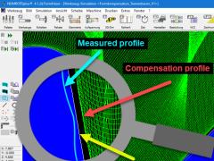 NUM 发布 NUMROTO 刀具磨削软件的成形补偿(选项功能)