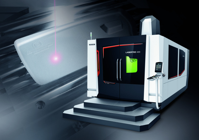 11 在 DMG MORI 成 功 的 5 轴 桥 式 激 光 表 面 纹 理 加 工 机 床 产 品 线 中 ,LASERTEC 400 Shape 是一款全新产品,其 X 轴行程达 4,000 mm