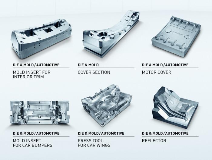 12 在模具制造业,用激光技术高效率地加工复杂和大型3D模具的表面纹理的重要性日益提高