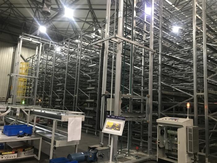 图1 长春一汽集团1350工厂自动化物流系统